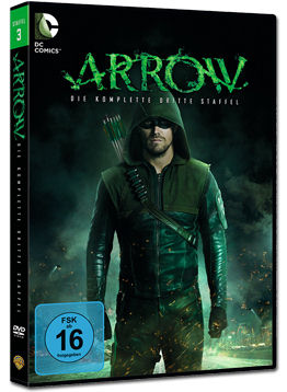 Arrow: Staffel 3 Box (5 DVDs)