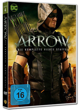 Arrow: Staffel 4 Box (5 DVDs)