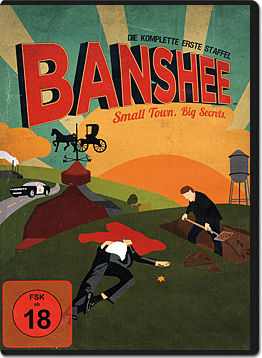 Banshee: Staffel 1 Box (4 DVDs)