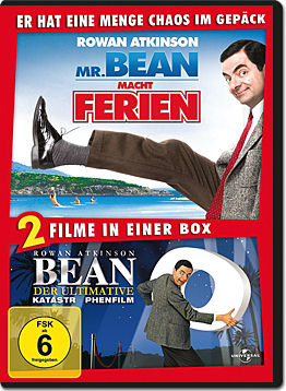 Bean & Mr. Bean macht Ferien (2 DVDs)