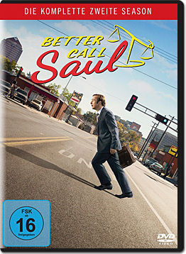 Better Call Saul: Staffel 2 (3 DVDs)