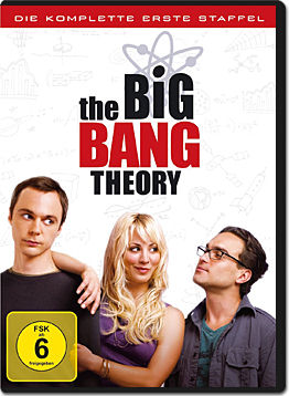 The Big Bang Theory: Staffel 1 Box (3 DVDs)