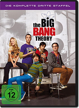 The Big Bang Theory: Staffel 3 Box (3 DVDs)