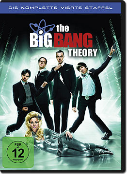 The Big Bang Theory: Staffel 04 Box (3 DVDs)