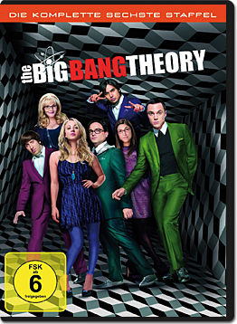 The Big Bang Theory: Staffel 06 (3 DVDs)
