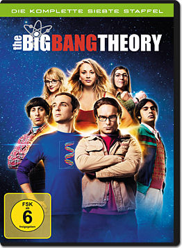 The Big Bang Theory: Staffel 7 Box (3 DVDs)