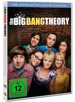 The Big Bang Theory: Staffel 08 (3 DVDs)