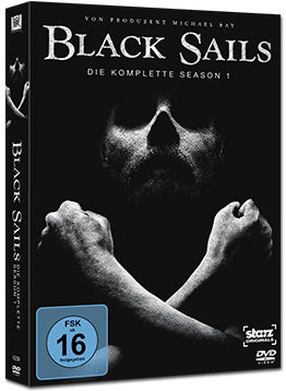 Black Sails: Staffel 1 (3 DVDs)