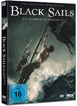 Black Sails: Staffel 2 (4 DVDs)
