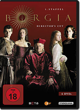 Borgia: Staffel 1 Box - Director's Cut (6 DVDs)
