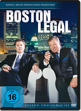 Boston Legal: Season 2 Box (7 DVDs)