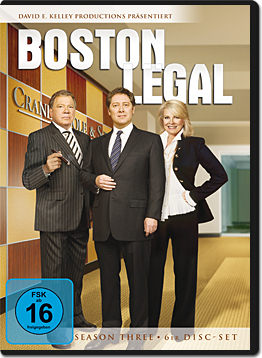 Boston Legal: Season 3 Box (6 DVDs)