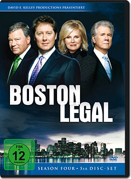 Boston Legal: Season 4 Box (5 DVDs)