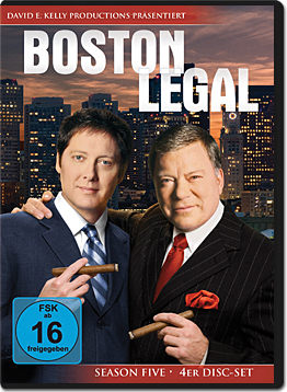 Boston Legal: Season 5 Box (4 DVDs)
