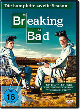 Breaking Bad: Season 2 Box (4 DVDs)