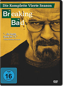 Breaking Bad: Season 4 Box (4 DVDs)