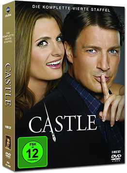 Castle: Staffel 4 Box (6 DVDs)