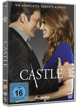 Castle: Staffel 6 Box (6 DVDs)