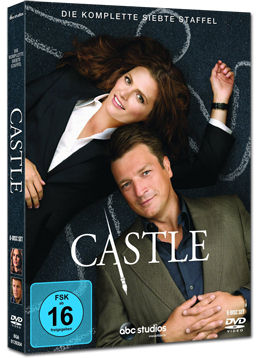 Castle: Staffel 7 Box (6 DVDs)