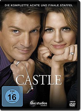 Castle: Staffel 8 Box (6 DVDs)