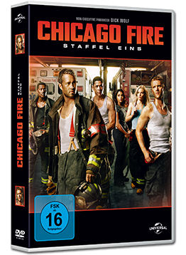 Chicago Fire: Staffel 1 Box (6 DVDs)