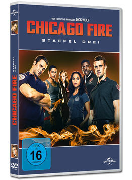 Chicago Fire: Staffel 3 Box (6 DVDs)