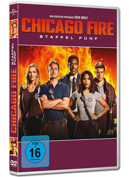 Chicago Fire: Staffel 5 Box (6 DVDs)