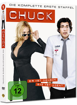 Chuck: Staffel 1 Box (4 DVDs)