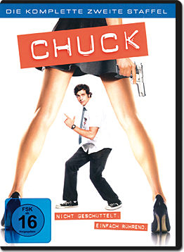 Chuck: Staffel 2 Box (6 DVDs)
