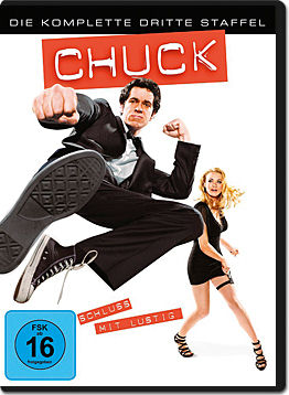 Chuck: Staffel 3 Box (5 DVDs)
