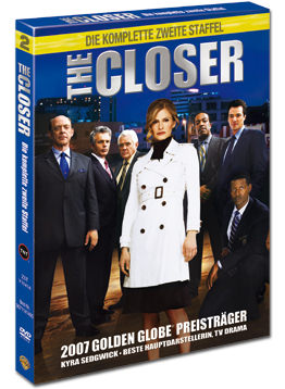 The Closer: Staffel 2 Box (4 DVDs)