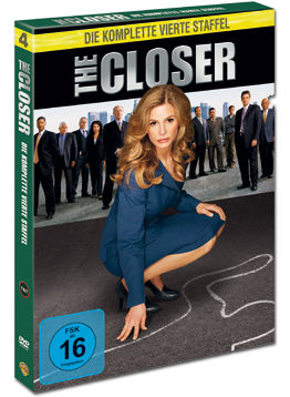 The Closer: Staffel 4 Box (4 DVDs)