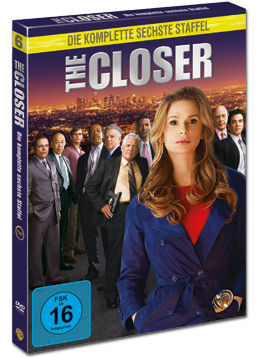 The Closer: Staffel 6 Box (3 DVDs)