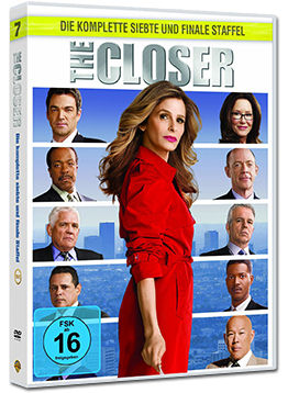 The Closer: Staffel 7 Box (5 DVDs)