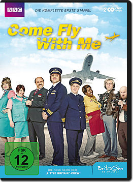 Come Fly with Me: Die komplette 1. Staffel (2 DVDs)