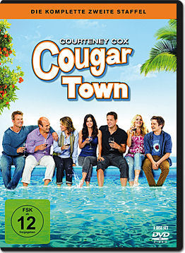 Cougar Town: Staffel 2 Box (4 DVDs)