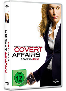 Covert Affairs: Staffel 2 Box (4 DVDs)