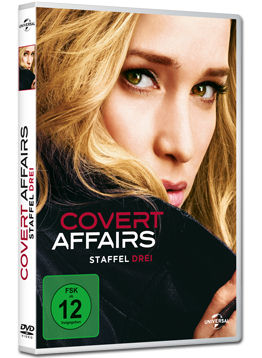 Covert Affairs: Staffel 3 Box (4 DVDs)