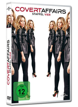 Covert Affairs: Staffel 4 Box (4 DVDs)
