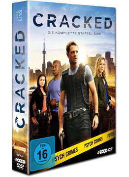 Cracked: Staffel 1 Box (4 DVDs)