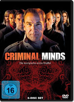 Criminal Minds: Staffel 01 Box (6 DVDs)