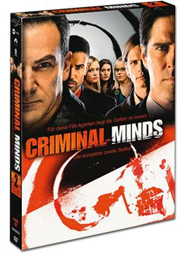 Criminal Minds: Staffel 02 Box (6 DVDs)