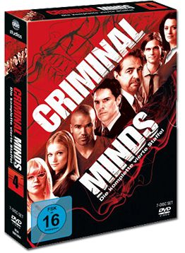 Criminal Minds: Staffel 04 Box (7 DVDs)