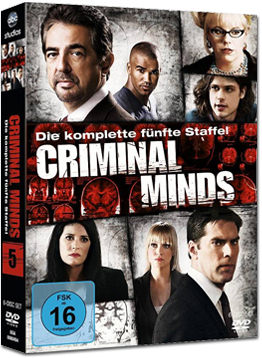 Criminal Minds: Staffel 05 Box (6 DVDs)