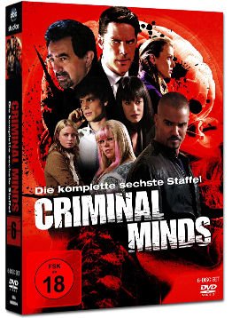 Criminal Minds: Staffel 06 Box (6 DVDs)