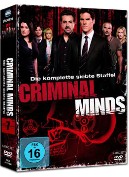 Criminal Minds: Staffel 07 Box (5 DVDs)
