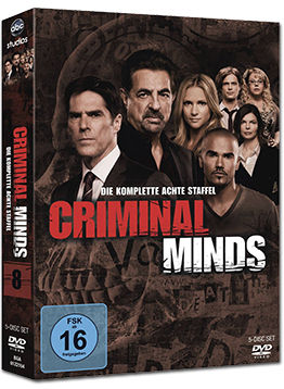 Criminal Minds: Staffel 08 Box (5 DVDs)