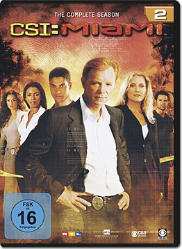 CSI: Miami - Die komplette Season 02 Box (6 DVDs)