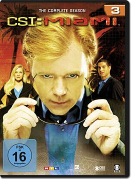 CSI: Miami - Die komplette Season 03 Box (6 DVDs)