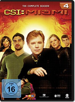 CSI: Miami - Die komplette Season 04 Box (6 DVDs)